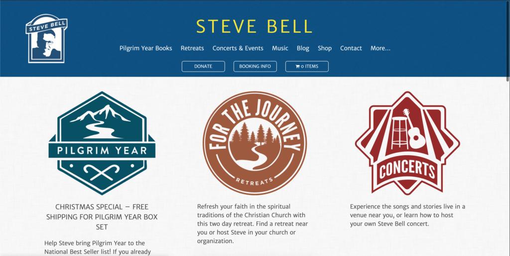 Screenshot of Steve Bell